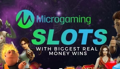 Microgaming Slots with Biggest Real Money Wins